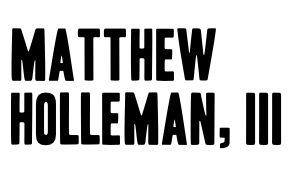 Matthew Holleman - sponsor